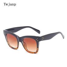 Fashion Cat Eye Sunglasses Women 2018 Brand Designer Luxury Sun glasses Lady Summer Style Sun Glasses Female Rivet Shades UV400