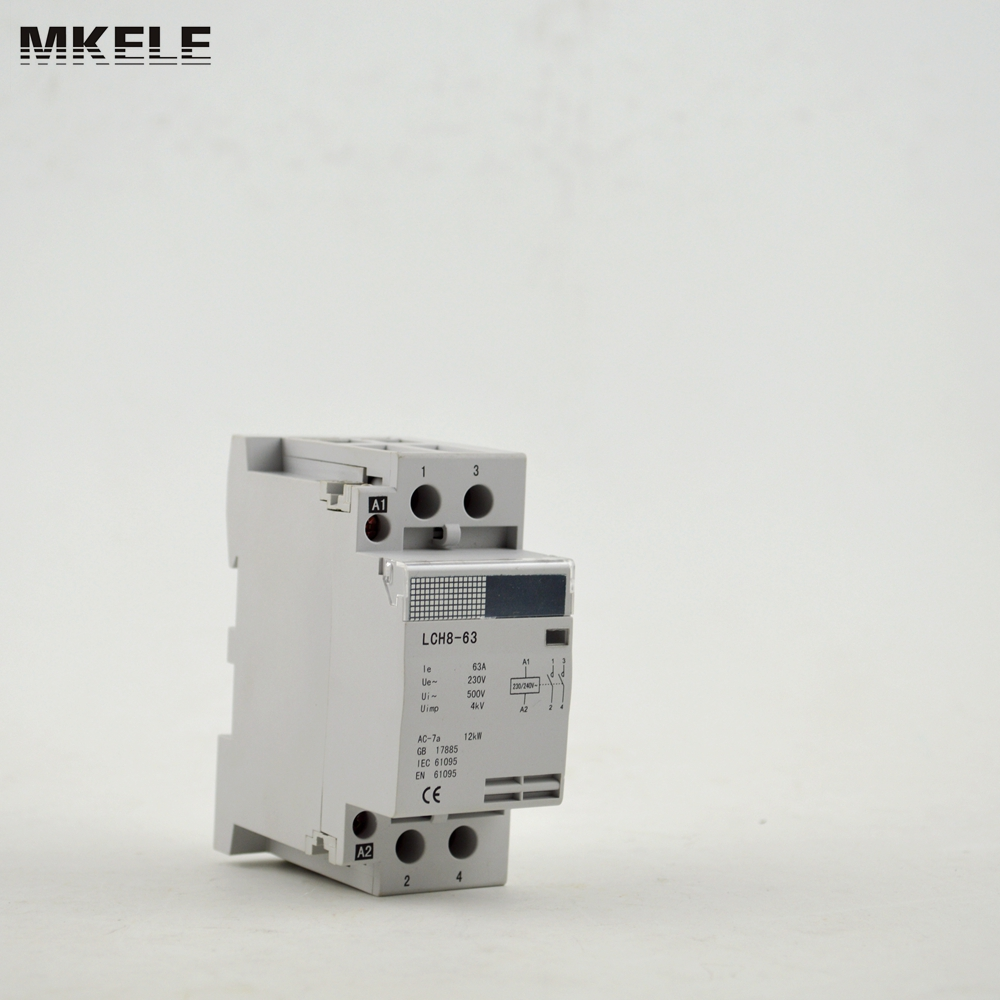 reliable certified single phase electrical contactor mk hac8 63 63a rh aliexpress com Contactor Relay Wiring Diagram 3 Phase Contactor Wiring Diagram