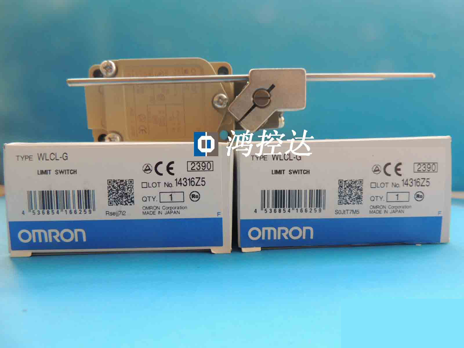 Brand new original Omron stroke switch WLCL-G warranty for one yeaBrand new original Omron stroke switch WLCL-G warranty for one yea
