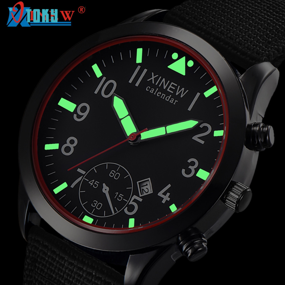 Mens Military Quartz Army Watch Black Date Luxury Sport Luminous Wrist Watch May27 tl t5my2 page 6