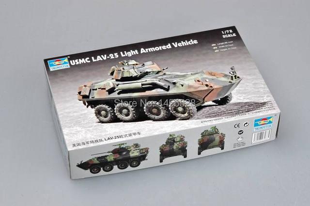 TRUMPETER 07268 1/72 USMC LAV 25 Light Armored Vehicle Assembly Model Kits  Scale