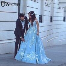 Promworld Wedding Dress 2019 Ball Gown Sleeveless