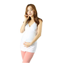 2015 Hot New Womens Summer Style Camisa Maternity Clothes Nursing Tops Breastfeeding Vest T-Shirt for Pregnant M&B1030