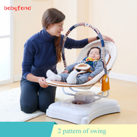 Ppimi Электрический детская кроватка автоматический детское кресло качалка стол стул интеллектуальные успокаивающий сна колыбель кровать с