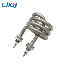LJXH chauffe eau électrique 220V 380V, tuyau en acier inoxydable 304, pièces de rechange, élément de chauffage à eau distillée