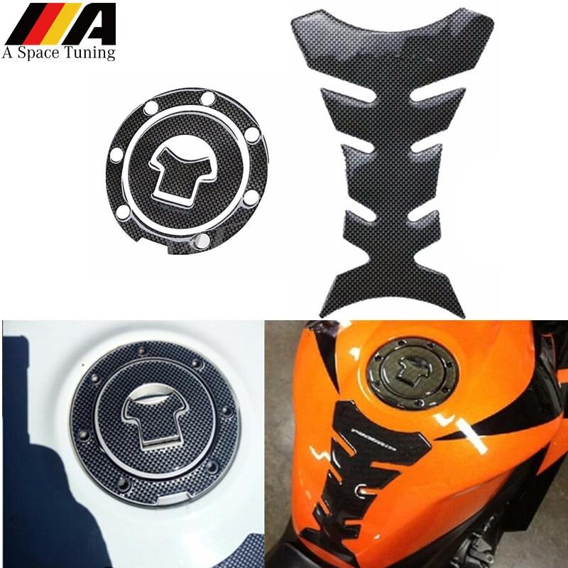 Gas Cap Cover Sticker Pad Fuel for Honda CBR1000RR 04-12 CBR929 F4I VFR800 03-08