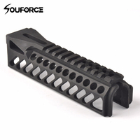 GripExtend Picatinny Rail Handguard Cover 6.5 Inch Length with 20mm Scope Ring Extreme Hunting Accessories