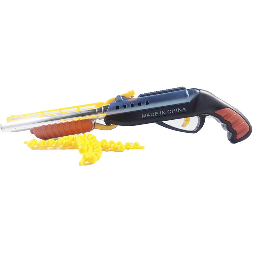 Outdoors Soft Bullet Toy Gun Double-barreled Plastic Shooting CS Battle Games Pistols Air Gun Bendable With Bullets Gift For Boy repsol brake lever