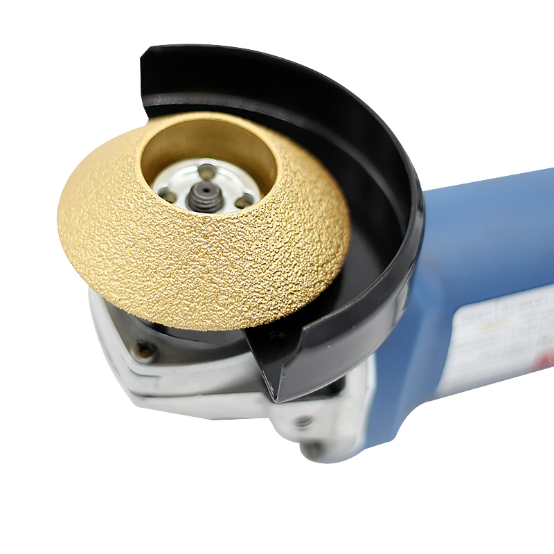 Brazing Diamond Angle Grinder Stone Grinding Wheel 45 Degree Bevel Edge Marble Plate Disc Ceramic Grinding Wheel