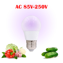 Full Spectrum E27 85V-250V LED Plant Grow Light Bulb For Indoor Garden Plants Flower Hydroponics