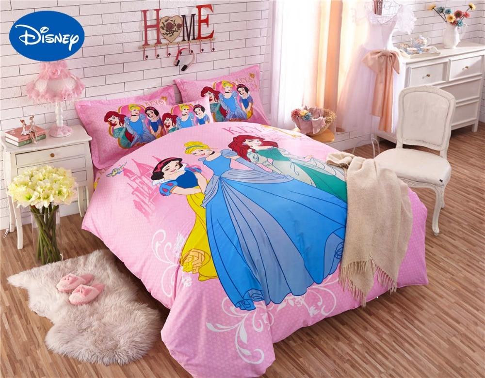 Princess Comforter Bedding Set Single Twin Full Queen Size