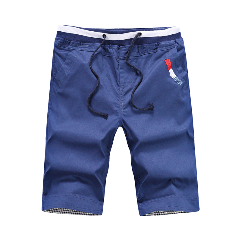 2018 Men Casual Shorts Men Cotton Solid Shorts Summer Beach Shorts New Fashion Shorts