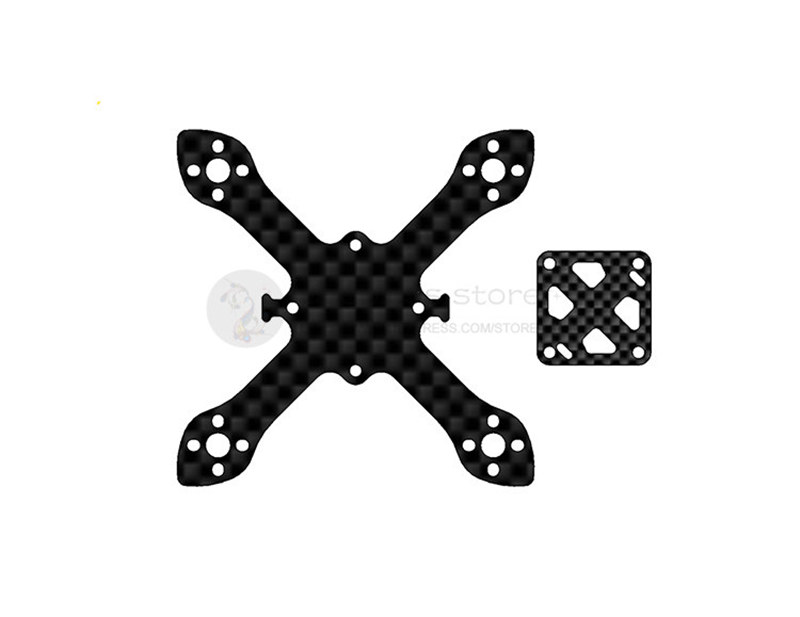 70mm carbon fiber brushless quadcopter frame unassembled for DIY Micro indoor FPV Racing Drone support 1102 1103 1104 motors carbon fiber mini 250 rc quadcopter frame mt1806 2280kv brushless motor for drone helicopter remote control