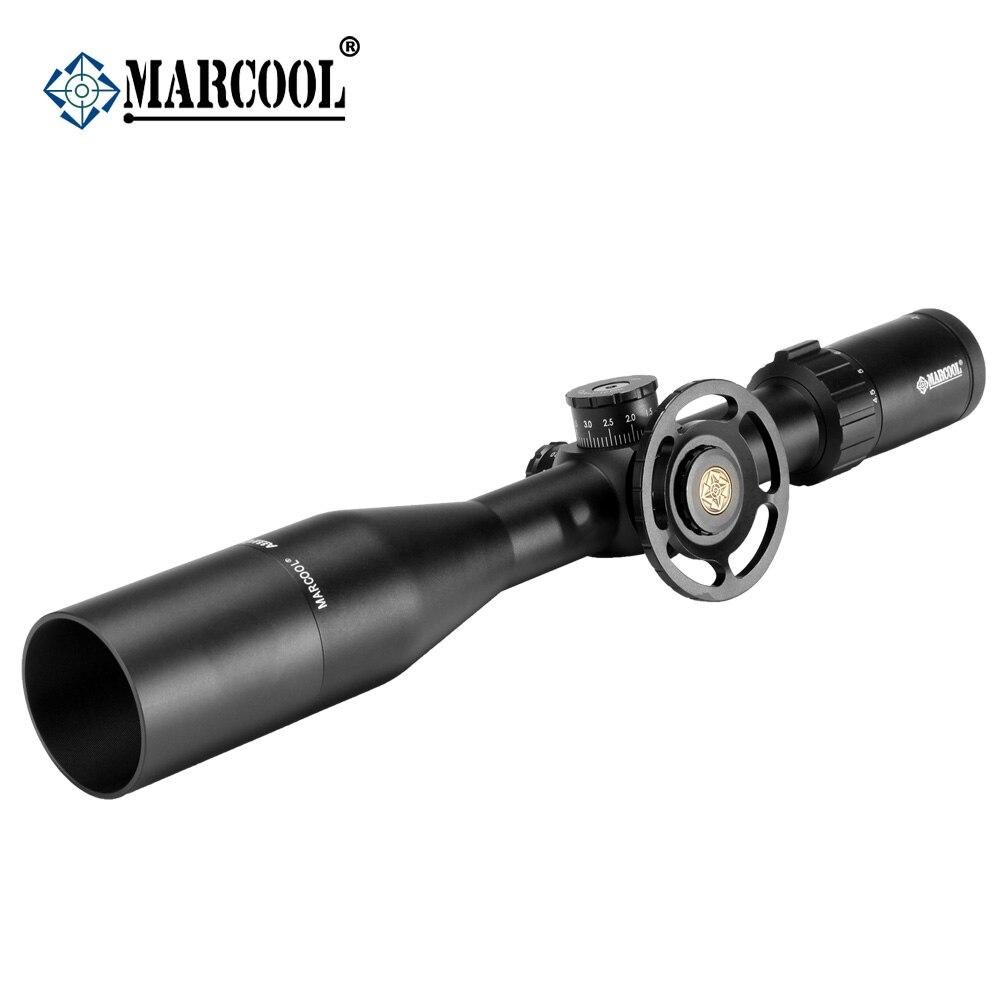 Offre spéciale! MARCOOL Optique Vue ALT 4.5-18X44 SFL Pistolet À Air Fusil de Chasse de Tir Côté Grande Roue Au Point Pour armes à air comprimé tir
