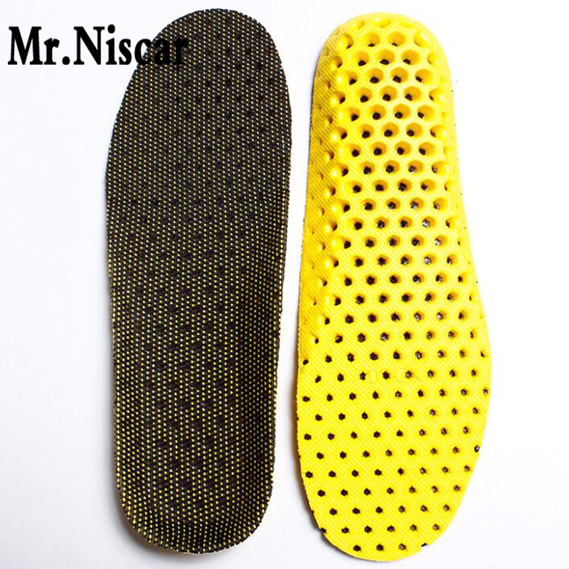 Mr.Niscar EVA Breathable Insoles Unisex Orthotic Arch Support Sport Shoe Pad Sport Running Insoles Insert Cushion for Men Women 2017 gel 3d support flat feet for women men orthotic insole foot pain arch pad high support premium orthotic gel arch insoles