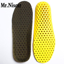 Mr.Niscar EVA Breathable Insoles Unisex Orthotic Arch Support Sport Shoe Pad Sport Running Insoles Insert Cushion for Men Women