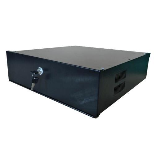 Caisse métallique fermée à DVR Lockbox-4u