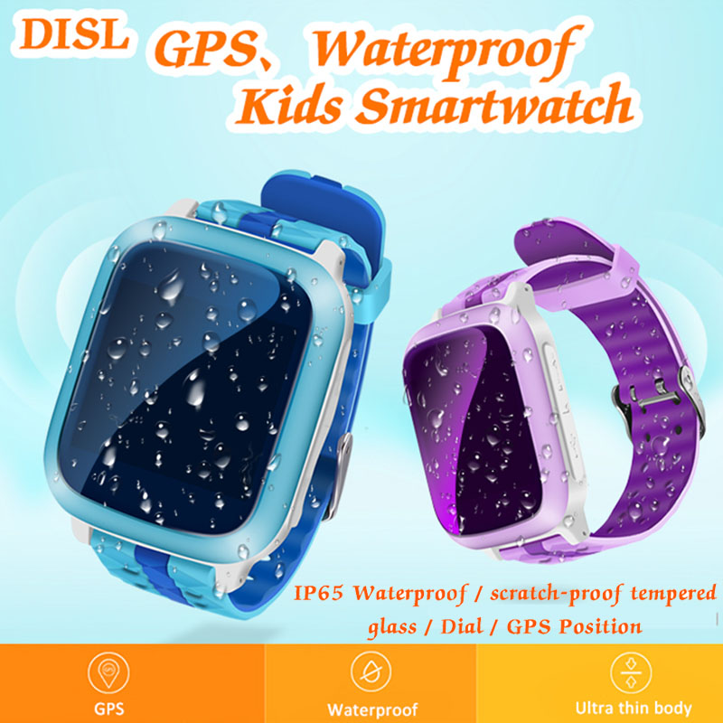Children Smart Watch Baby Anti-lost Watch Touch Screen SOS Dial Call GPS For Kid Safe Monitor SIM Card Intelligent Smartwatch