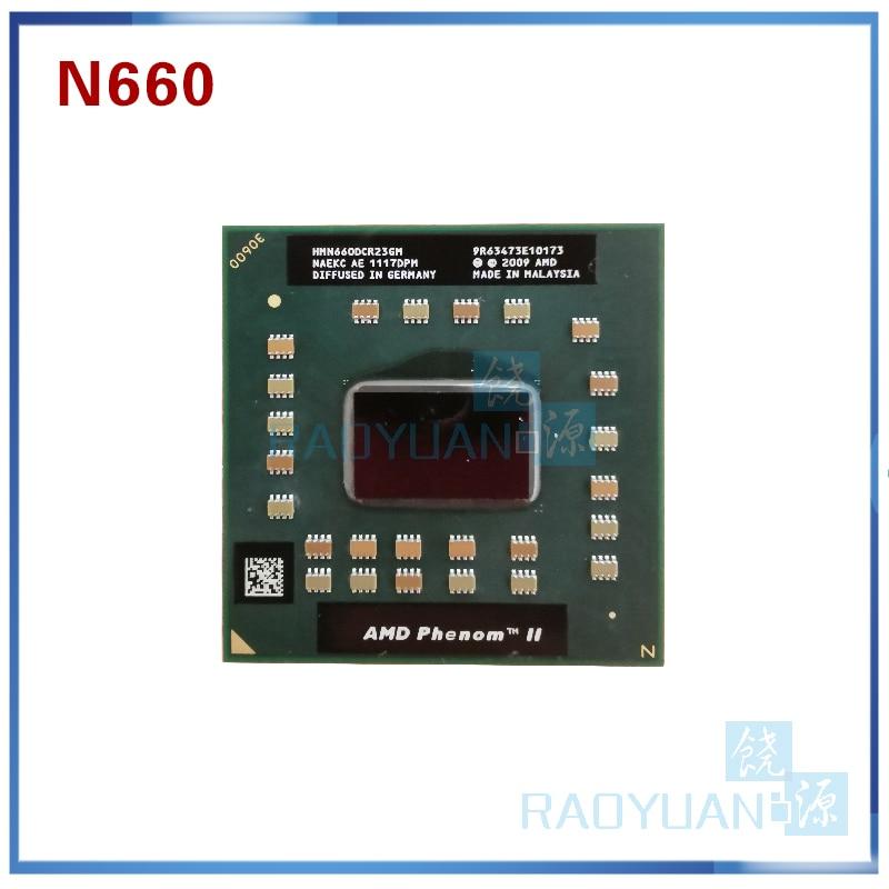 AMD Phenom Dual-Core Mobile N660 HMN660DCR23GM 3.0Ghz 35W Notebook CPU Laptop CPU Processor  Socket S1 (S1G4)