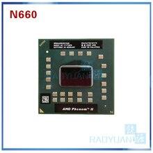 Amd phenom 듀얼 코어 모바일 n660 hmn660dcr23gm 3.0 ghz 35 w 노트북 cpu 노트북 cpu 프로세서 소켓 s1 (s1g4)