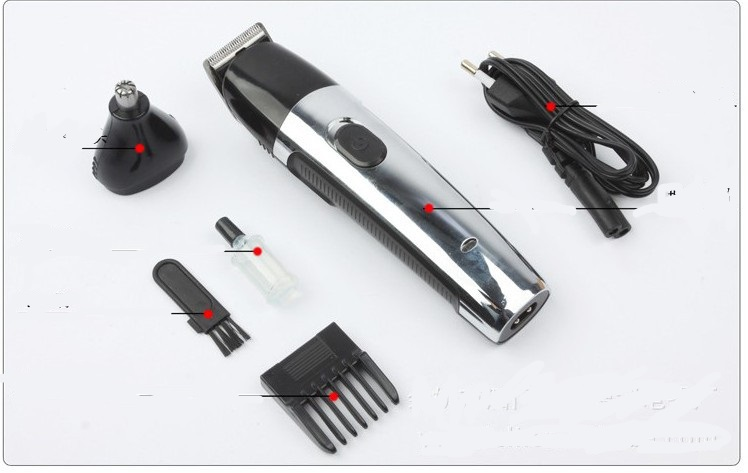 220v EU plug electric rechargeable beard trimmer nose hair clipper man grooming kit body hair remover shaver razor cutting cut small watyer booster pump reorder rate up to 80% shower booster pump