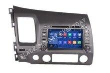 Встроенная память 16 г 4 ядра android 7.1 Fit Honda Civic оставили вождения 2006-2010 2011 dvd-плеер автомобиля Мультимедиа Навигация GPS DVD Радио