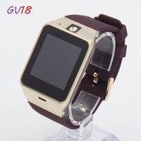 ใหม่A Plus GV18สมาร์ทนาฬิกาบลูทูธสมาร์ทนาฬิกาสำหรับโทรศัพท์Android, 2กรัมSIMสนับสนุนในตัวกล้อง, PK DZ09 GT08สม...