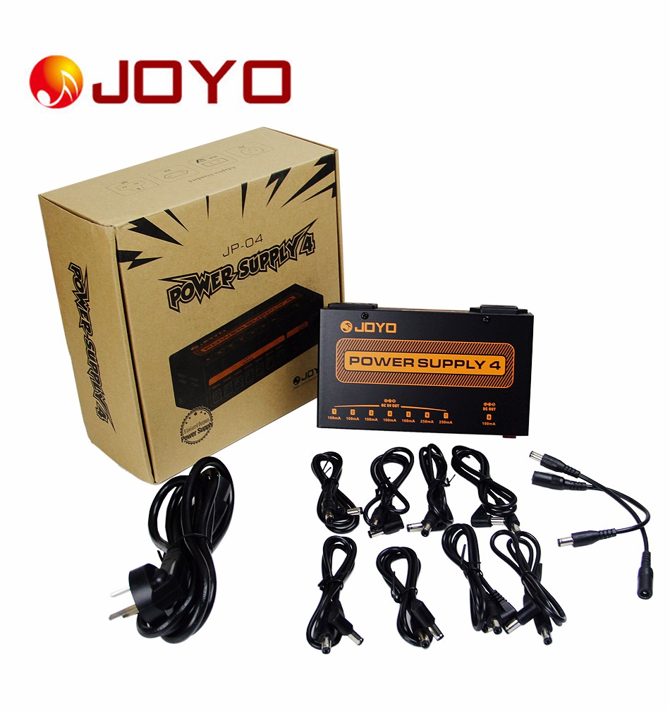 цена на 100mA/250mA Joyo JP-04 guitar effect pedal POWER SUPPLY US AU UK EU Plug Standards Multi - Power Supply Guitar accessory