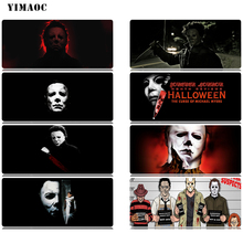 YIMAOC Michael Myers Halloween Mouse Pad 30x80 cm Computer Mousepad Anti-slip Natural Rubber Gaming Mat