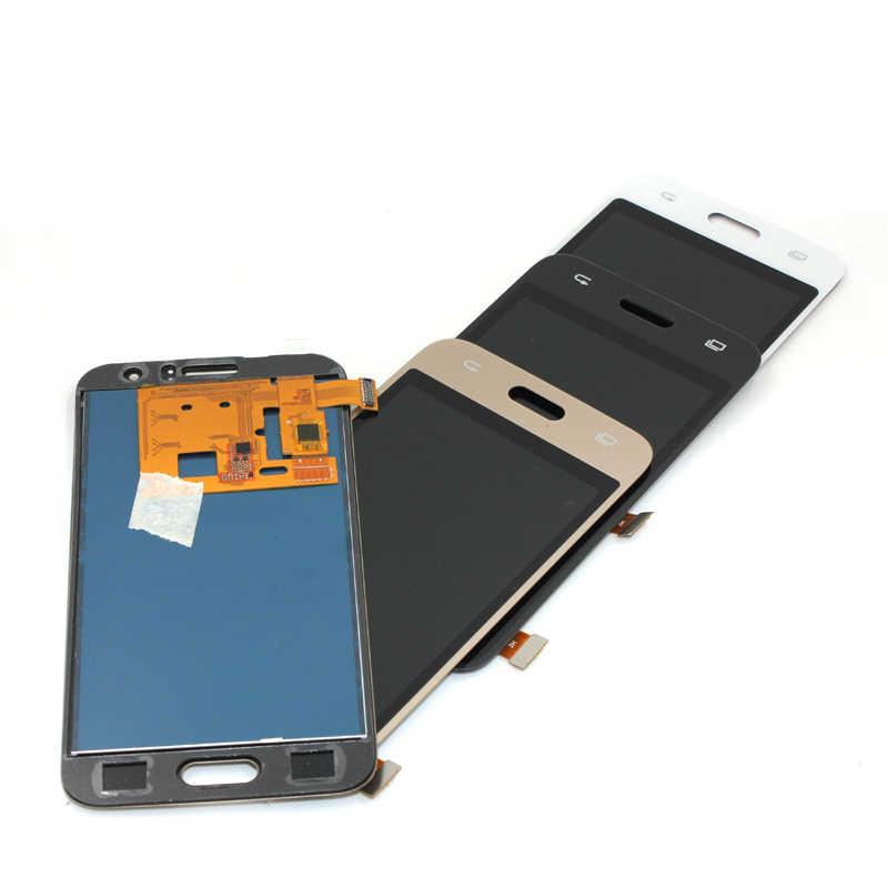 J120 LCD مع محول الأرقام بشاشة تعمل بلمس الاستشعار الزجاج + شاشة الكريستال السائل لوحة مراقبة الجمعية لسامسونج غالاكسي J120 J120F J120M J120H