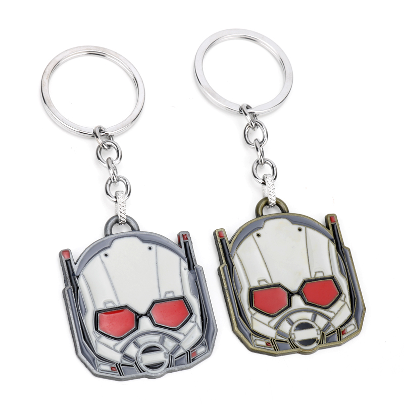 MQCHUN Cartoon Ant Man Keychain Anime Vision Car Keychain Jewelry Key Holder Llaveros Game Anime Jewelry Birthday Men Gifts