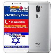 Оригинальный смартфон Пусть V Прохладный 1 Dual Leeco Cool1 Snapdragon 652 4 ГБ RAM 64 ГБ ROM Coolpad Мобильный сотовый Телефон Android 6.0