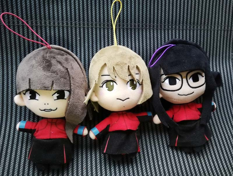 BiSH Plush Doll Stuffed Toy All 3 Set Aina Momoko Atsuko FURYU JAPAN 2018