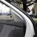 Left-driving Car Body Kit ABS Chrome Inner A pillar trim For Peugeot 408 2014 Car Accessories