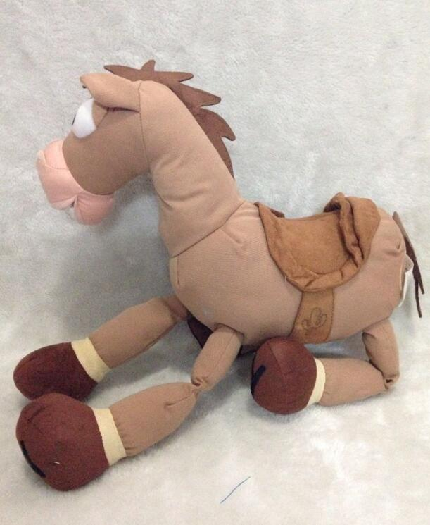 Rare Original Toy Story Bullseye Horse with Embroidery Plush Figure Stuffed Animals Soft Kids Toys Children Gift 40cm happy toy hot sale life size horse toy mechanical horse toys walking horse toy