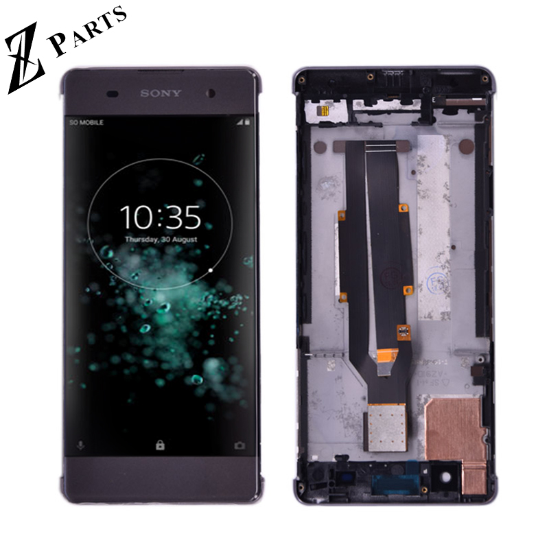 Original For <font><b>Sony</b></font> Xperia XA F3111 F3113 F3115 LCD Display with touch Screen display Digitizer Assembly with frame Free Shipping image