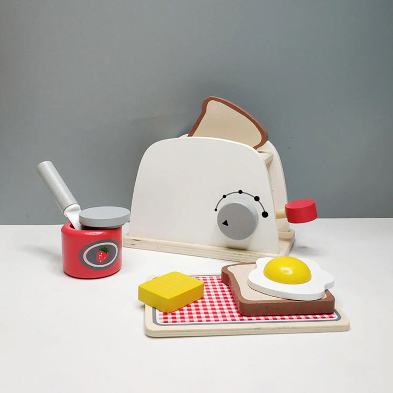 House toy wooden bread machine breakfast combination afternoon tea early education simulation toy children chef toyHouse toy wooden bread machine breakfast combination afternoon tea early education simulation toy children chef toy