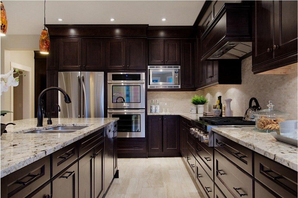 2017 деревянный кухонные шкафы традиционный стиль твердой древесины кухни мебель с кухней River Island s1606004