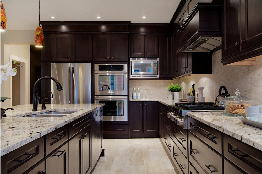 Online buy wholesale solid wood kitchen furniture from for Kitchen cabinet brand names