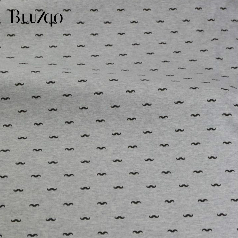 Buulqo New arrival 50x170cm printed baby cotton knitted fabric DIY soft cotton baby knitted jersey fabric in Fabric from Home Garden