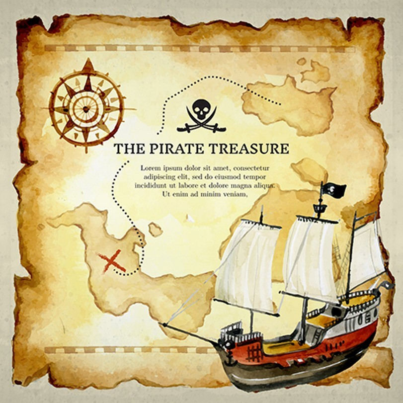 Old World Pirate Ship Theme Map photography studio background High-quality Vinyl cloth Computer printed wall  backdrops white rustic old wood plank texture backdrop vinyl cloth computer printed party photography studio background