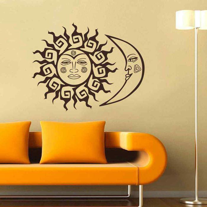 Bedroom Wall Decal Livingroom Vinyl Sticker Decals Art Interior ...
