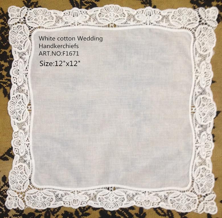 12PCS/Lot Fashion Women Handkerchiefs 12