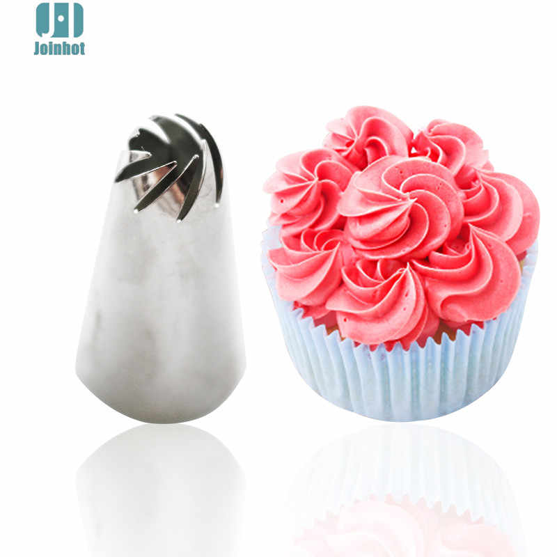 1pc star shaped cake pastry tips /cake icing nozzles/cake piping tips