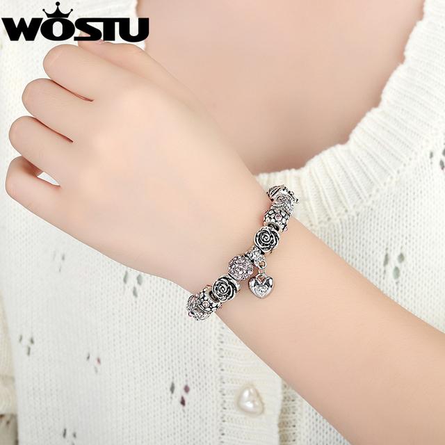 Sterling Silver Charm Bead Fit Bracelet