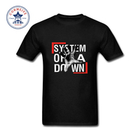 Fashion Clothes Casual System Of A Down SOAD EAGLES OVERCOME ROCK METAL MUSIC Cotton Funny T