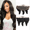 Indian Loose Wave Frontal Ear To Ear Lace Frontal Closure Loose Wave Lace Frontale Closure Indian Hair Luvin Hair Products