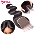 Indian virgin hair body wave lace closure, 8A 100% human hair closure soft Indian virgin hair closure,Indian body wave closure
