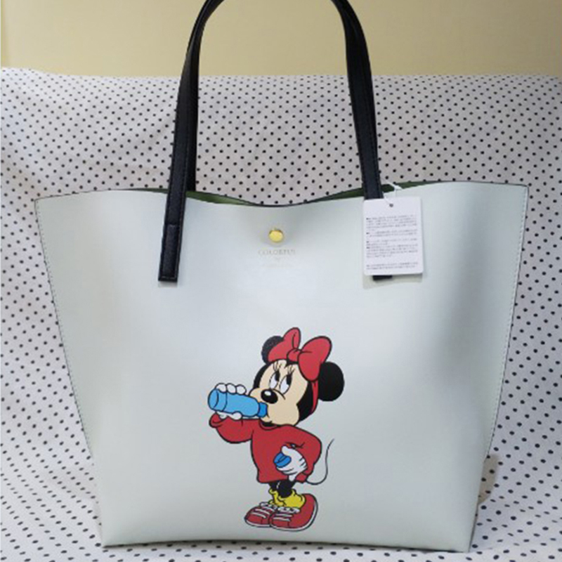 2019 Disney Fashion Printing Mickey Minnie Multifunction Mummy Bag Outdoor Shopping Large Capacity Baby Big Shopping