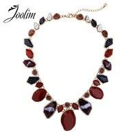 JOOLIM Jewelry Wholesale 2017 Moon Star Zinc Alloy Choker Necklace Fashion Jewelry Mother Gift Jewelry